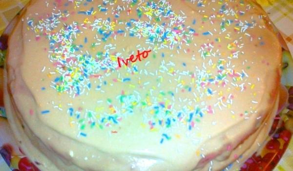 Домашна торта с три блата