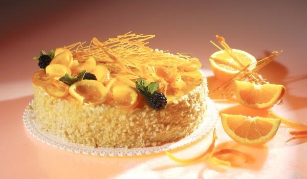Торта Портокалова мистерия