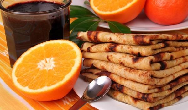 Портокалови палачинки