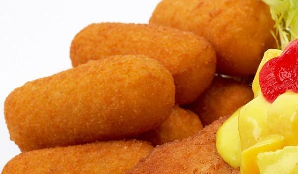 Картофени крокети с чесън